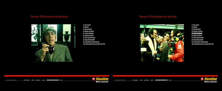 Texaco - Havoline CD-ROM - TV Advertising Archive featuring Peter Cook and John Cleese