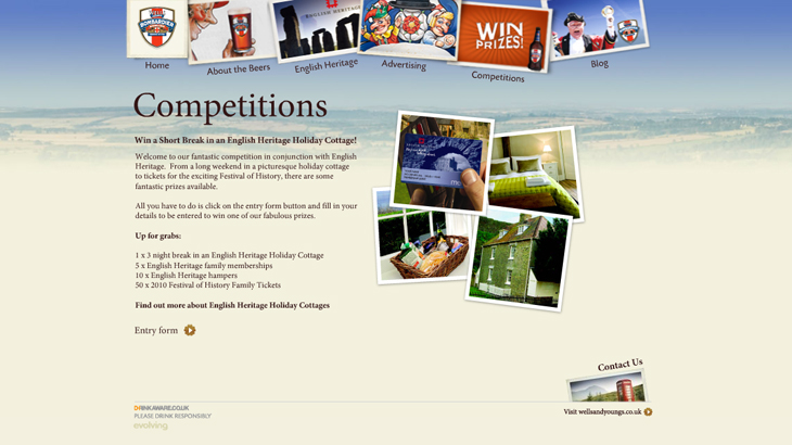 Bombardier - Website - Competitions