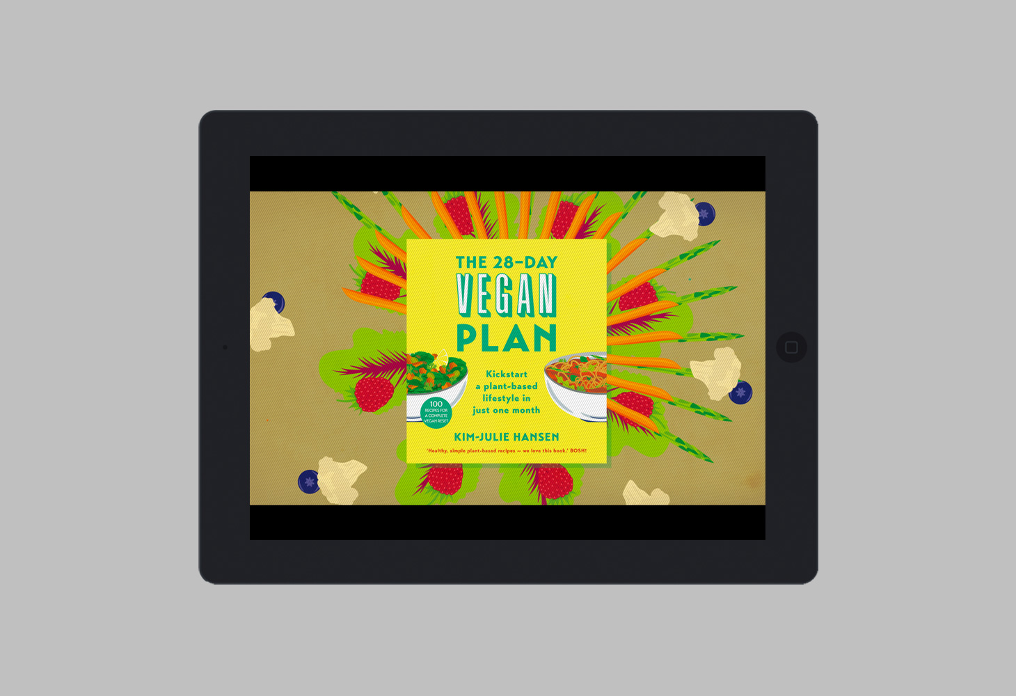 The 28 Day Vegan Plan - Animation - Packshot