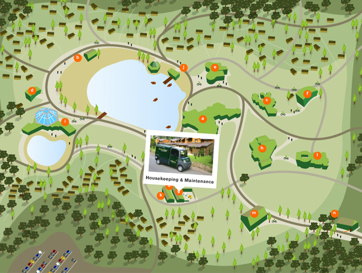Centre Parcs Virtual Village - Application