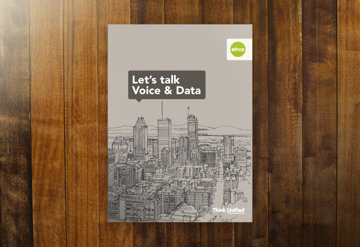 Ethos - Voice & Data - Brochure - Cover