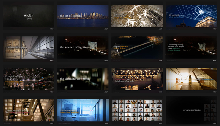 Arup - Lighting - Video - Storyboard