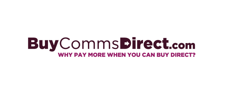 Buy Comms Direct - Identity - Logo on white