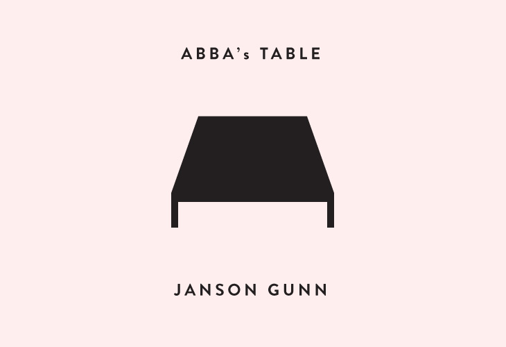 ABBA's Table - Identity - Layout