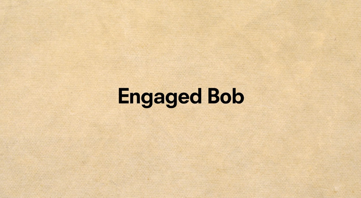 The Body Shop - Engaged Bob - Title screen