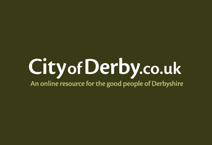 City of Derby Online Resource - Logo and strapline
