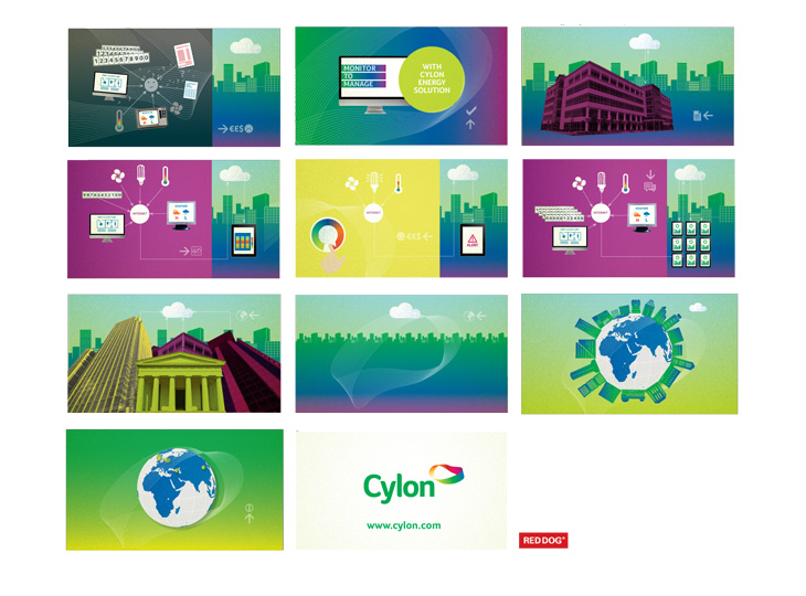 Cylon - Energy Solution - Additional Animation Storyboard