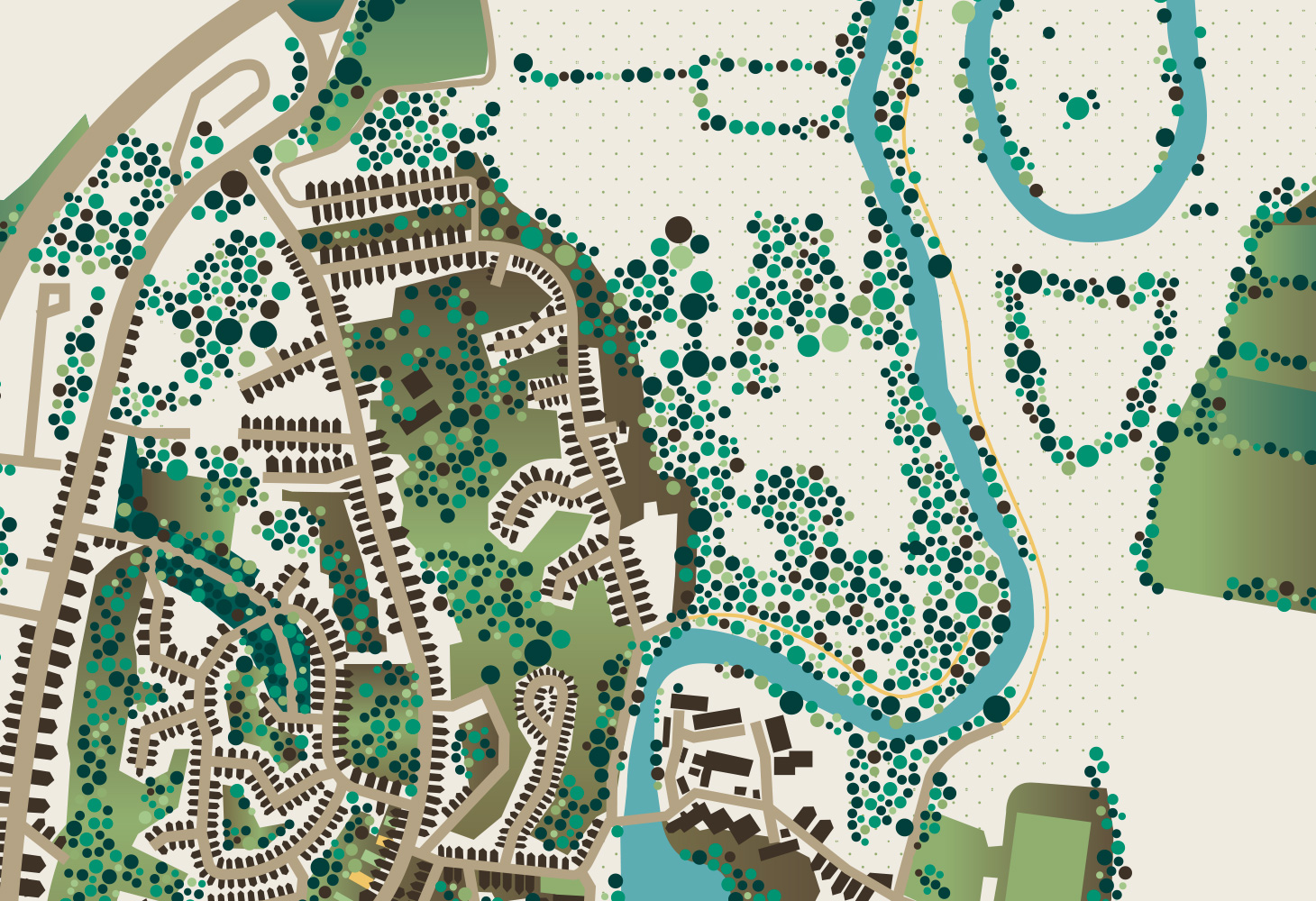 Darley Abbey - Map - Overview