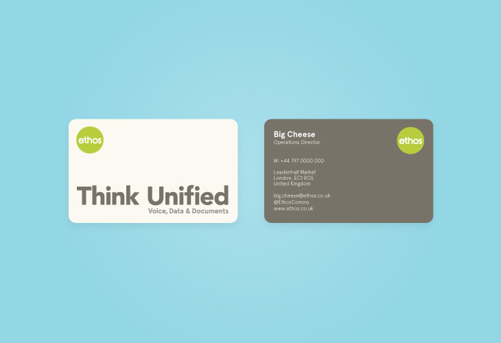 Ethos - Stationery - Business Cards