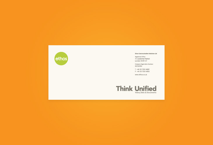 Ethos - Stationery - Compliment Slip