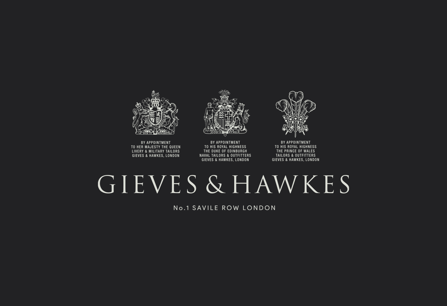 Gieves & Hawkes - Logomark lock up and standards
