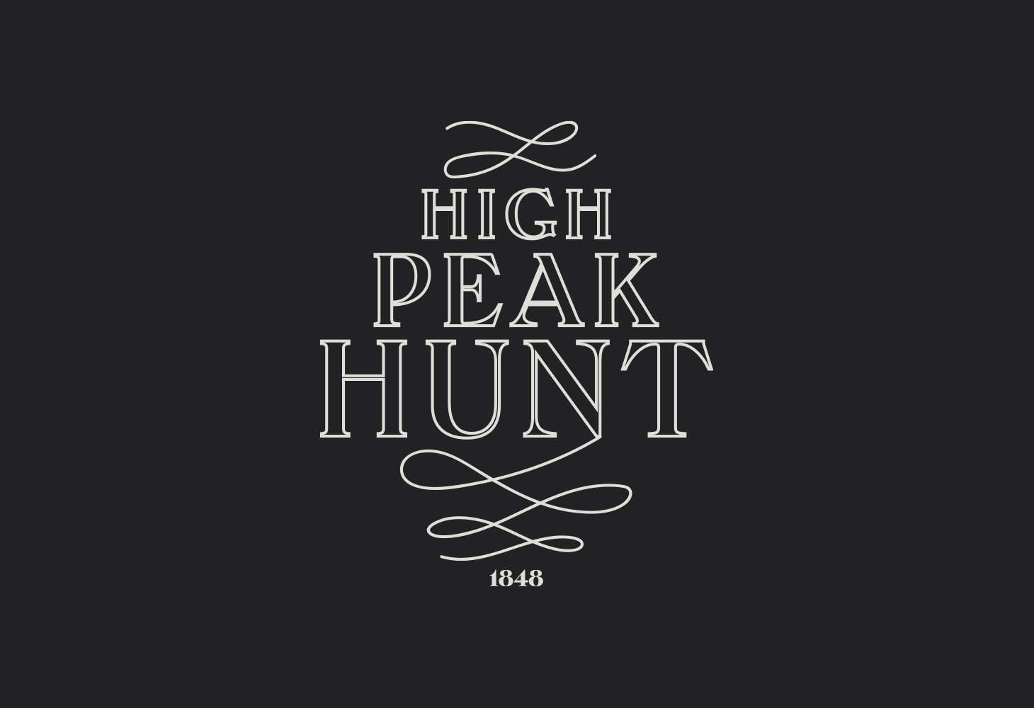 High Peak Hunt - Logomark