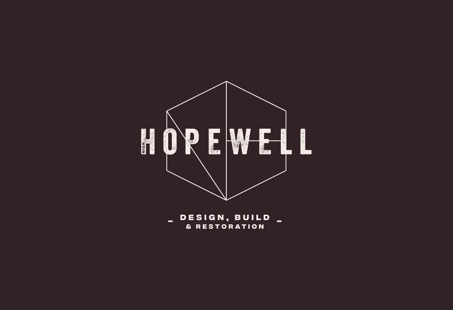 Hopewell - Logomark - mark, type and strap