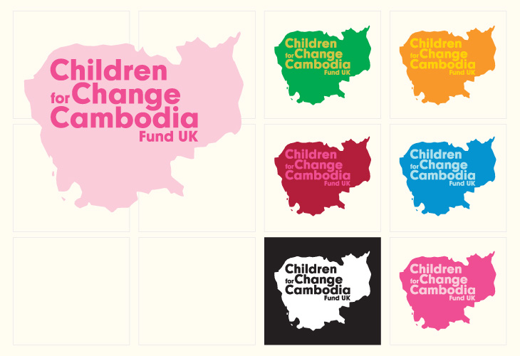 Children for Cambodia - Identity - Identity palette options