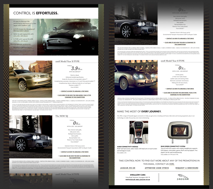 Jaguar - 3rd Quarterly Newsletter - Email in 2 parts