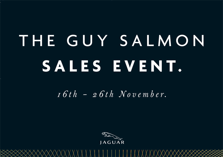 Jaguar - Guy Salmon Event - Poster