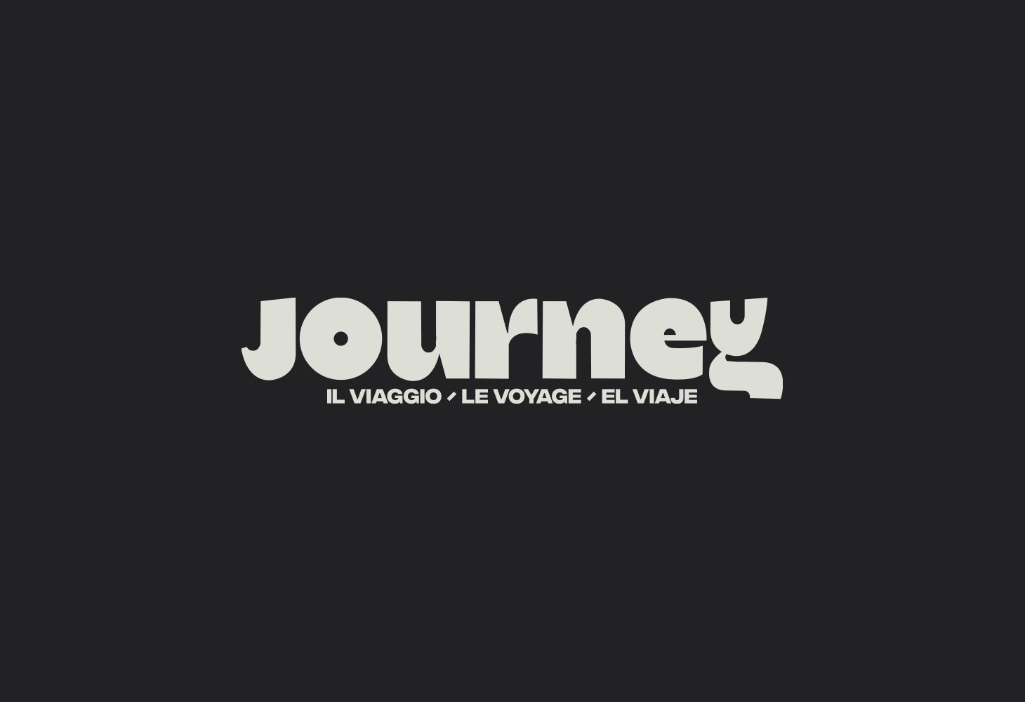The Journey - Logotype - Original