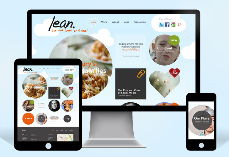 Lean - Website