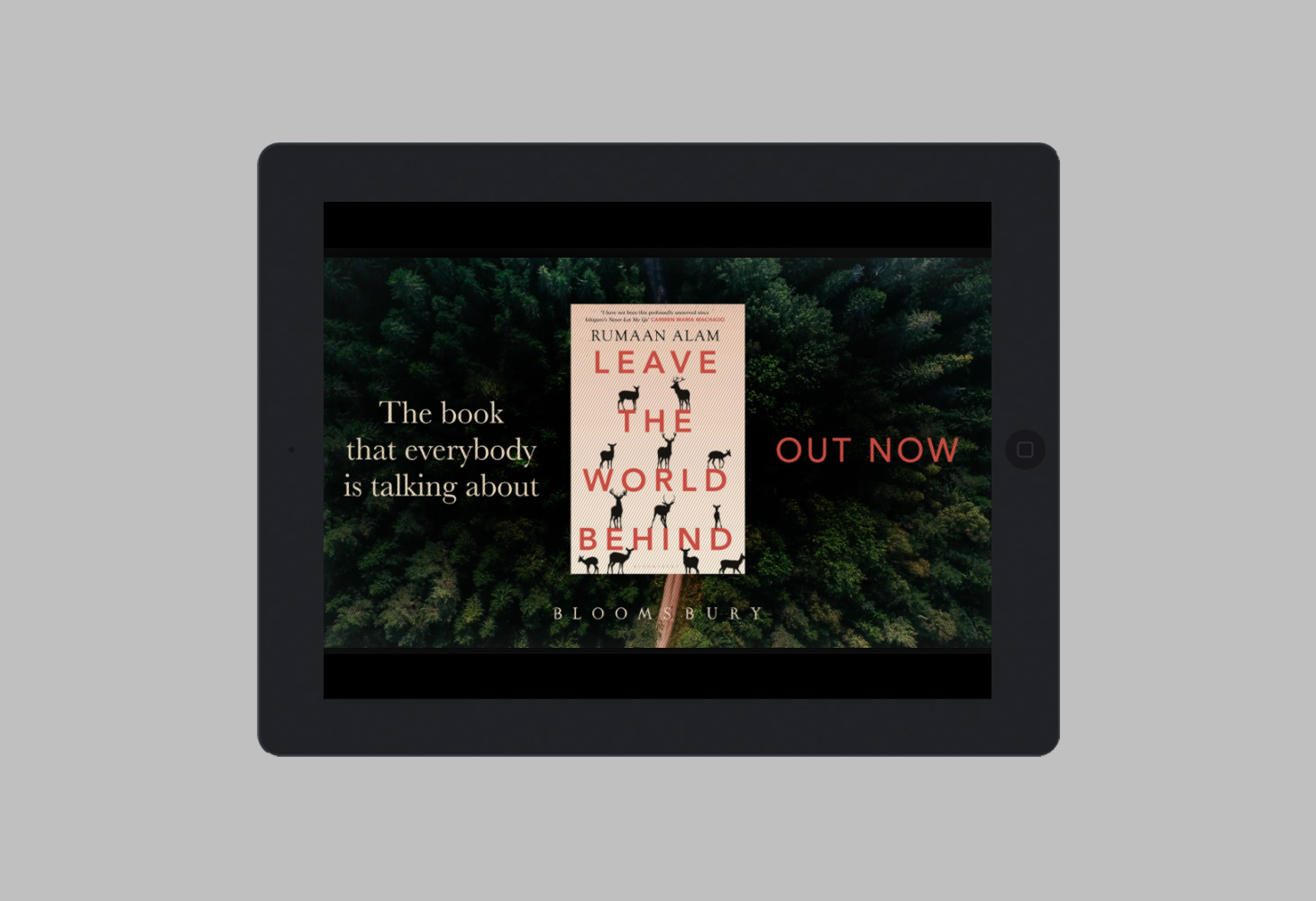 Leave the World Behind - Bloomsbury - Out Now