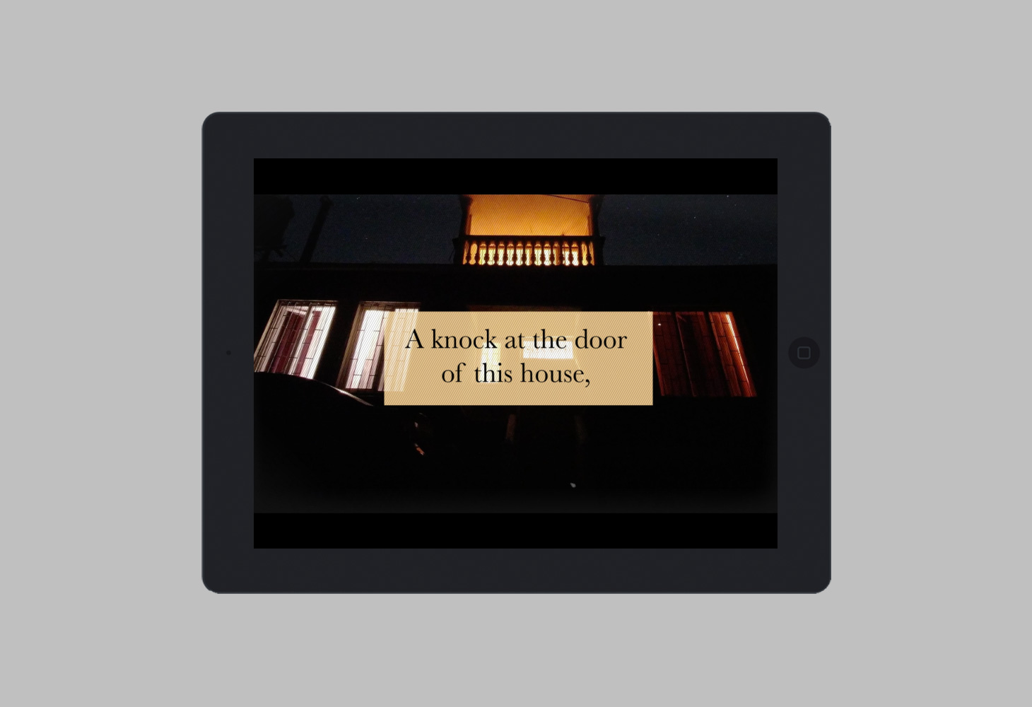 Leave the World Behind - Bloomsbury - A knock on the door