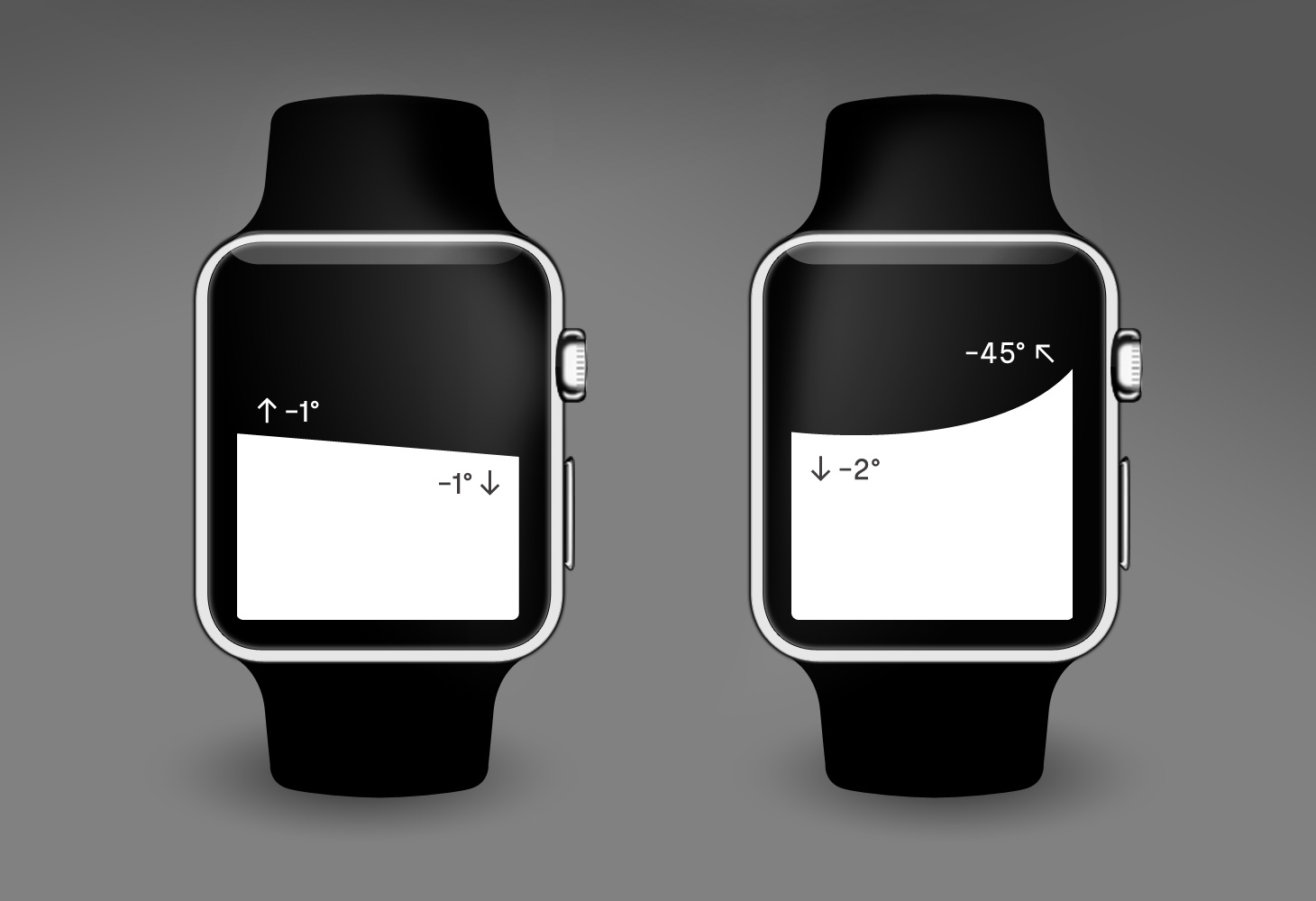 Level - Apple Watch App - UI x2