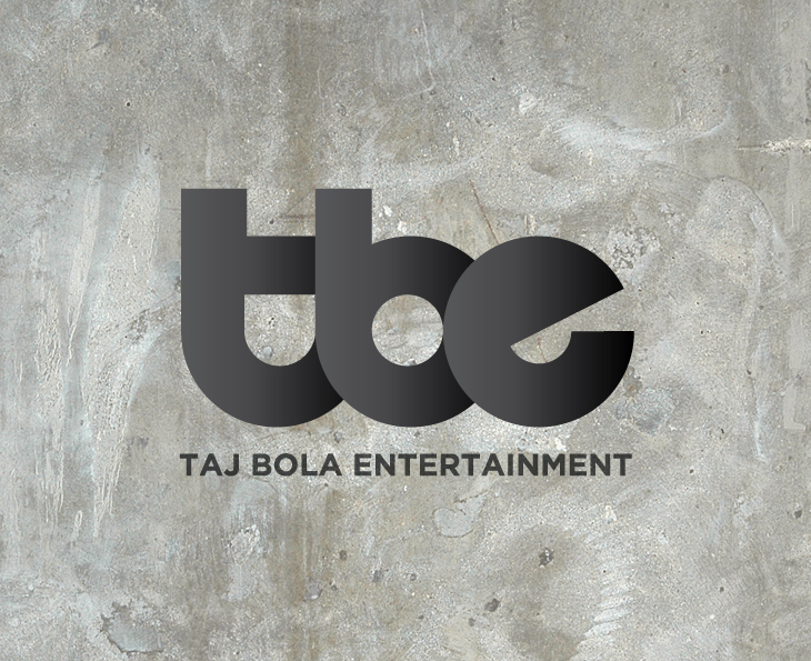 Taj Bola Entertainment - Identity - Concrete