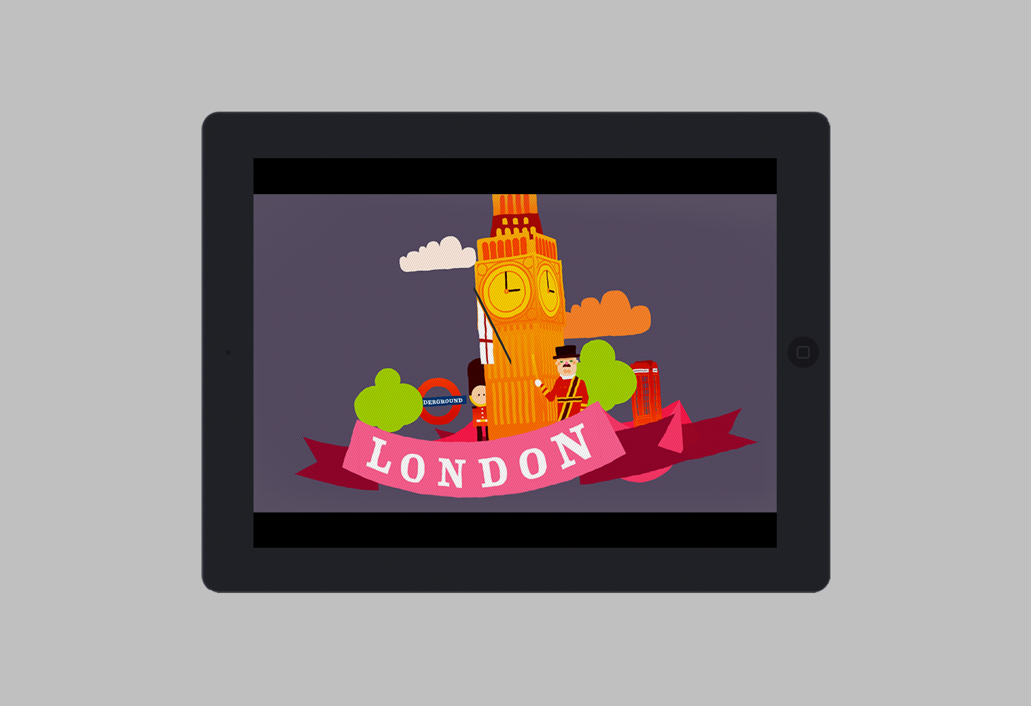 London - Animation - Title