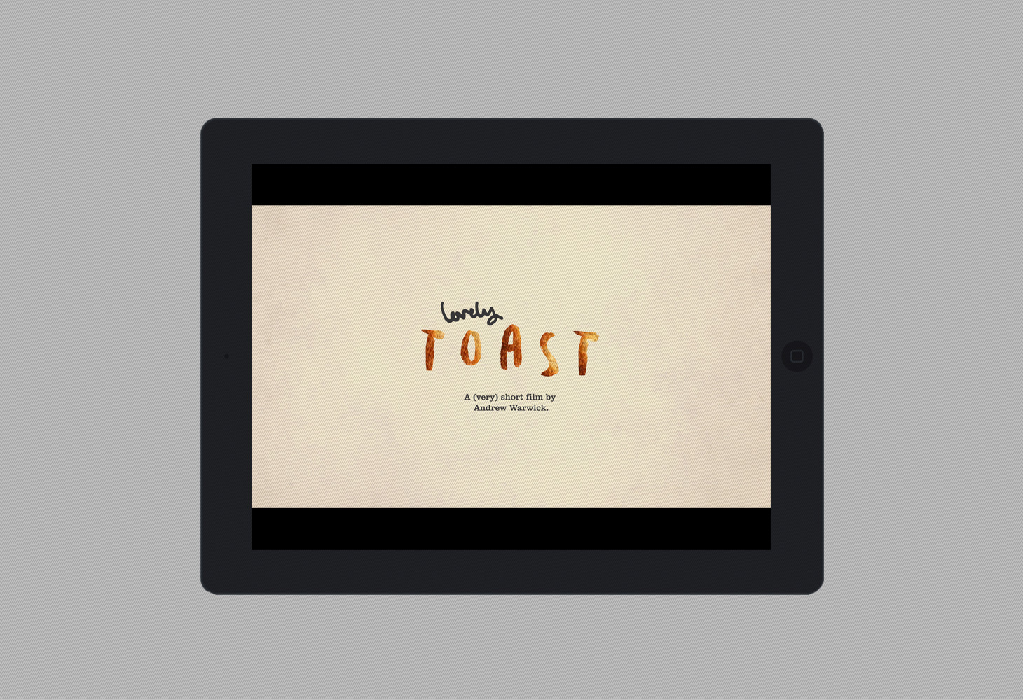 Lovely Toast - Film - Title