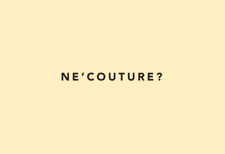 Rew - AW 13/14 - Art Direction - Ne' Couture?