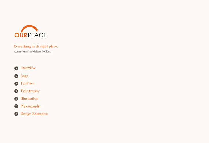 Our Place - Brand Guidelines
