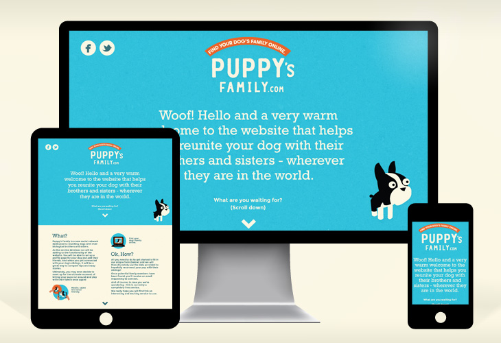 Puppy's Family - Website
