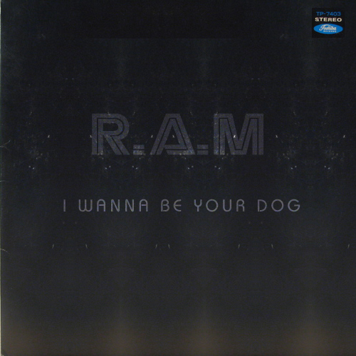 Record/CD Cover for Rob Webster's 'I wanna be your dog' Stooges remix.