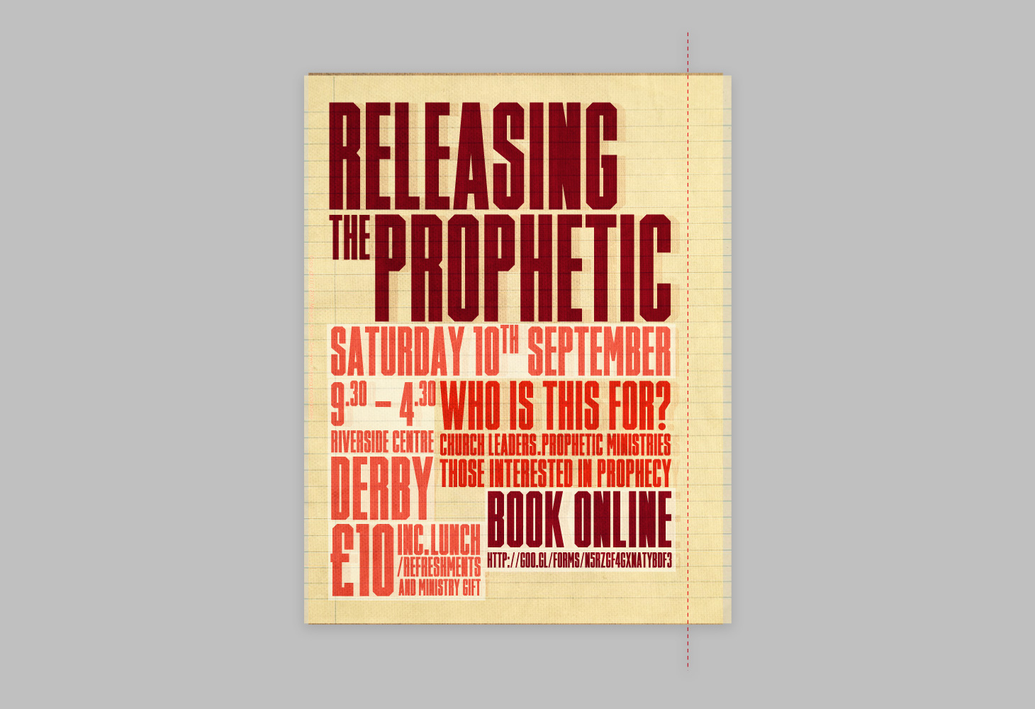 Releasing the Prophetic - Campaign - Poster