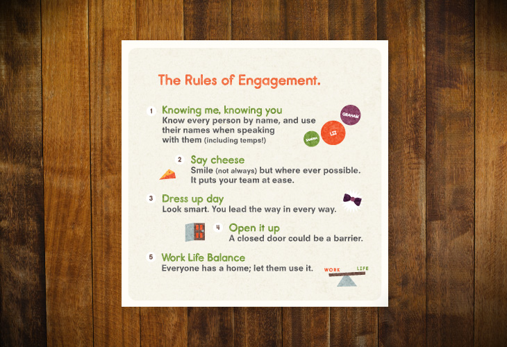 The Body Shop - The Tiny Book of Thank You's - Rules of engagement