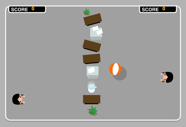 TNT - Beach Ball Flash Game