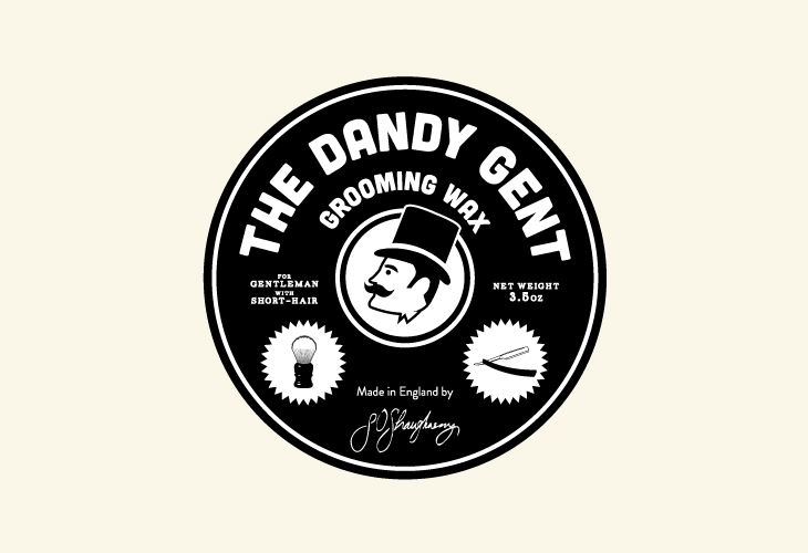The Dandy Gent - Identity - Circle Label