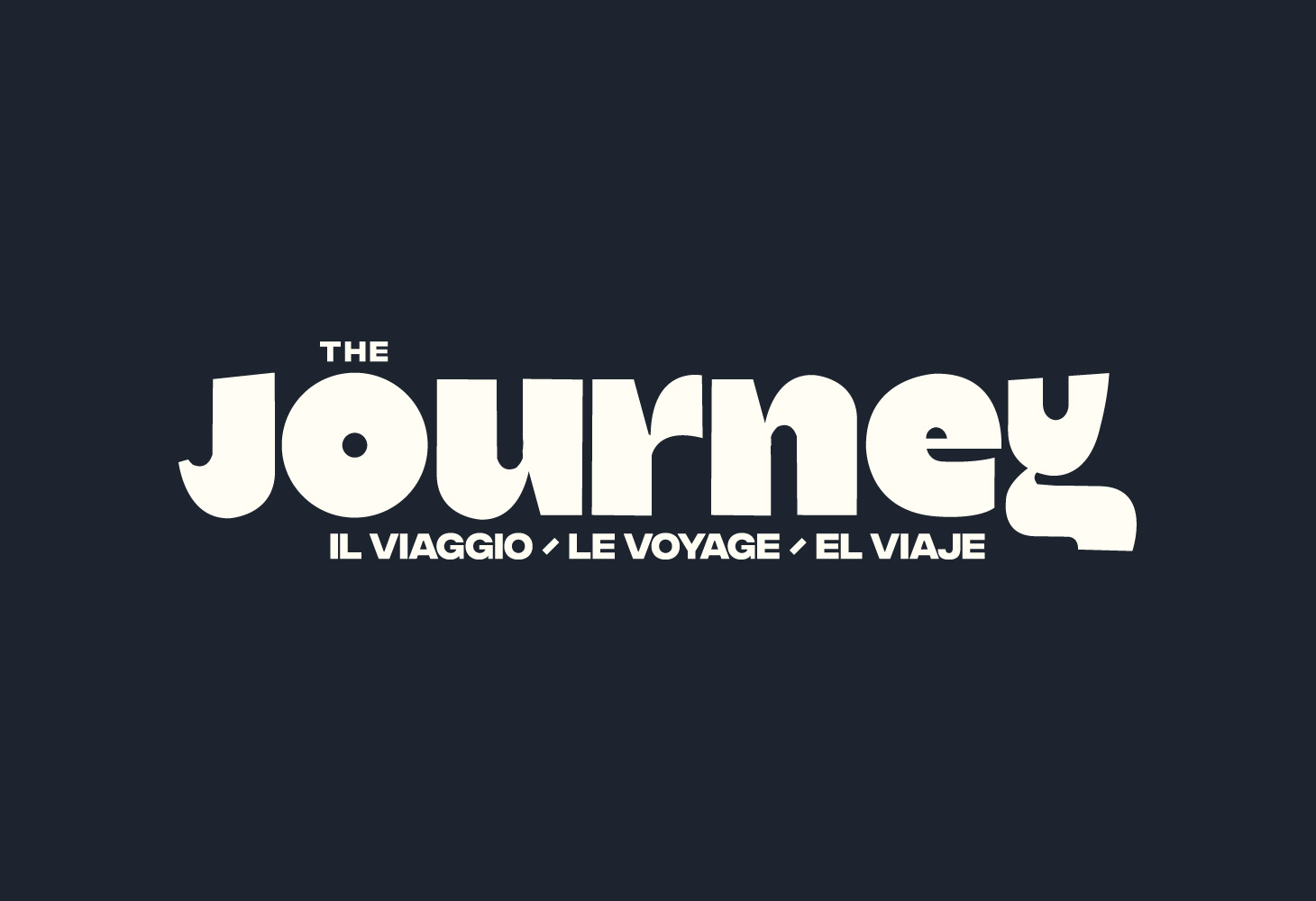 The Journey - Logotype - Bounjour