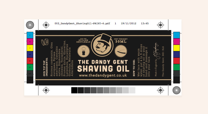 The Dandy Gent - Identity - Packaging