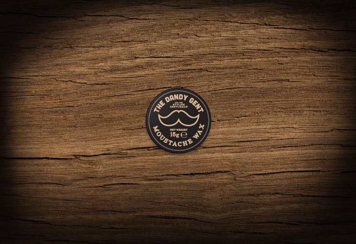 The Dandy Gent - All Products Review - Packaging - Moustache Wax