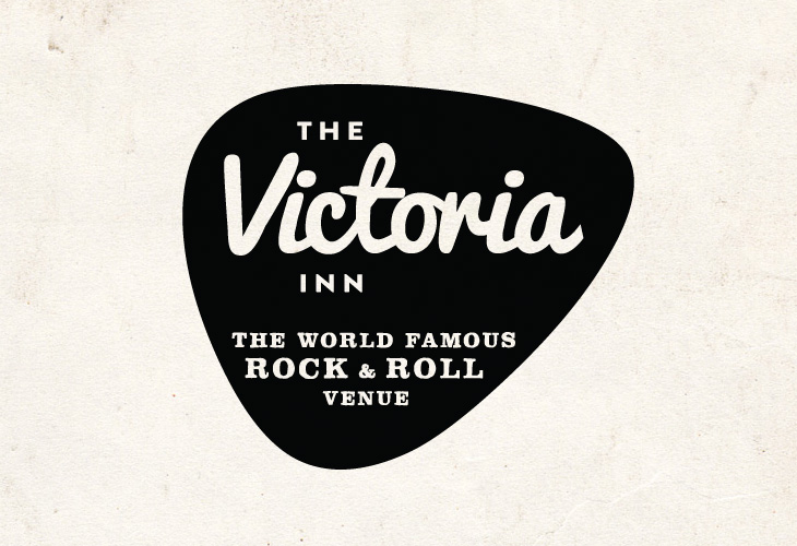 The Victoria Inn - Identity - Logotype & Plectrum