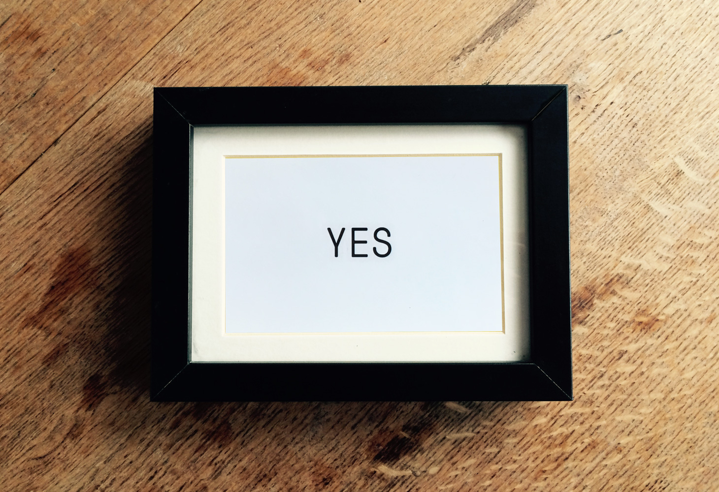 Yes & No - Prints - Yes