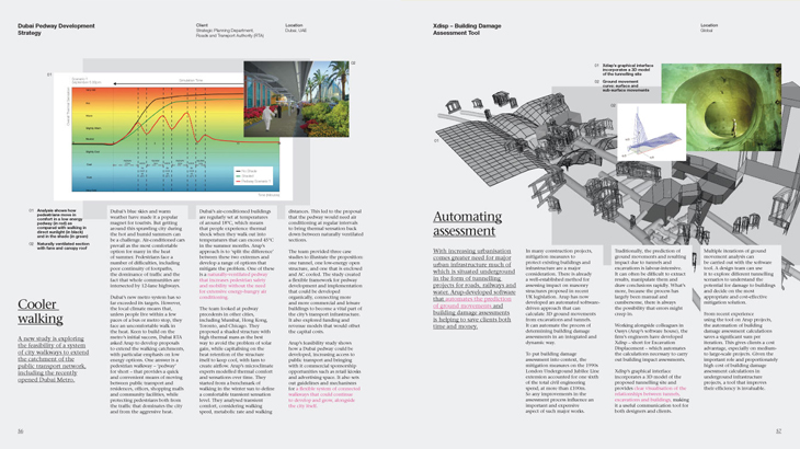 Arup - Design Yearbook 2010 - Cooler walking & Automating assessment