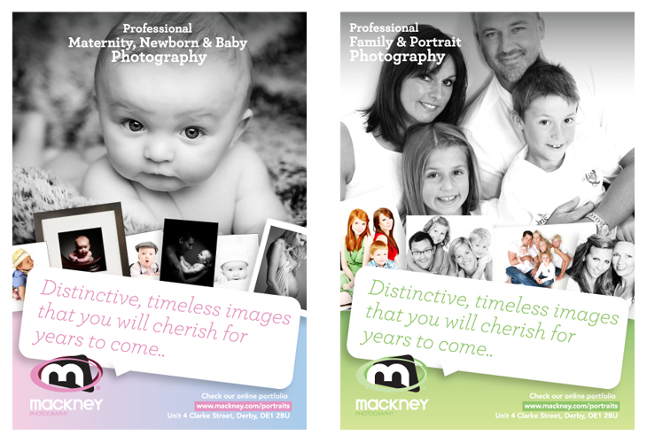 Mackney Photography - Baby and Family Leaflets