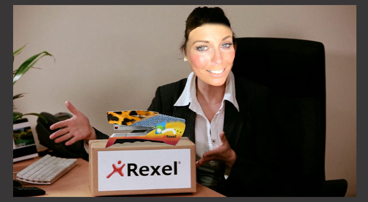 Rexel - My Fantasy Stapler - Website - Bespoke video