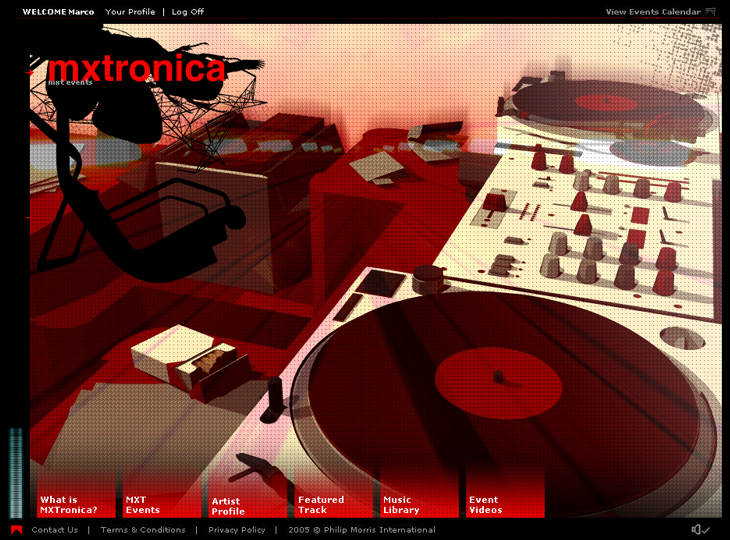 MXtronica - Website - Home